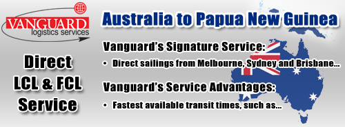 Australia to Papua New Guinea