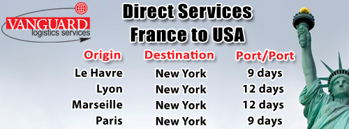 France to USA